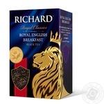 Чай черный Richard English Breakfast 90г