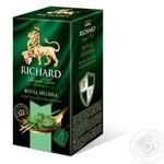 Чай зелений Richard Royal Melissa в пакетиках 25шт*1.8г