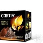 Чай чорний Curtis French Truffle в пірамідках 20шт*1,8г - купити, ціни на Метро - фото 1