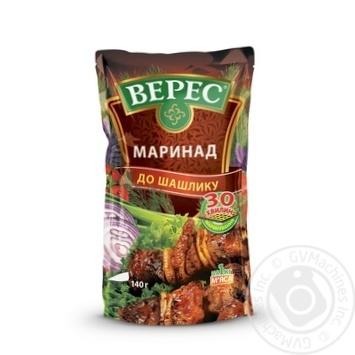 Маринад Верес к шашлыку 140г - купить, цены на Novus - фото 1