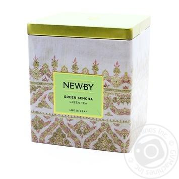 Чай зелений Зелена сенча NEWBY 125г ж/б - купити, ціни на Novus - фото 1
