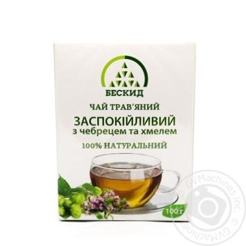 Чай трав'яний Заспокійливий з чебрецем Бескид 100г - купити, ціни на Novus - фото 3