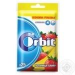 Резинка жевательная Orbit Клубника-Банан 35г