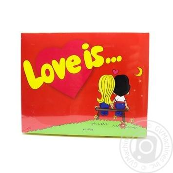 Набор шоколадный подарочный Shokopack Love is... 12*5г 60г - купить, цены на Novus - фото 1