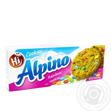 Печиво Веселка Hi Alpino 150г - купить, цены на Novus - фото 1