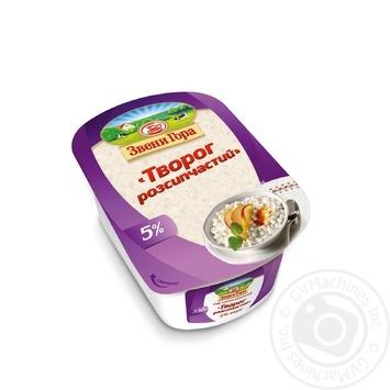 Сир кисломолочний Звени Гора Розсипчастий 5% 330г - купити, ціни на CітіМаркет - фото 1