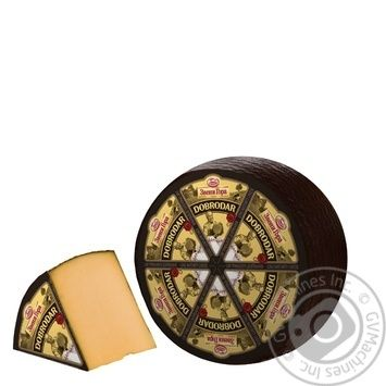 Cheese Zveni gora Dobrodar hard 50% Ukraine - buy, prices for Novus - image 1