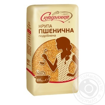 Skviranka Chopped Wheat Groats 800g