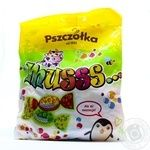 Цукерки-карамель фрукт асорті шипучі Musss Pszczolka 100г