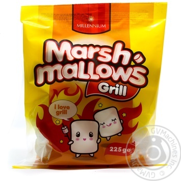 Millennium Marshmallows Barbecue Grill 225g - buy, prices for Novus - image 1