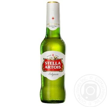 Пиво Stella Artois светлое фильтрованное 4,8% 0,5л