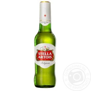 Пиво Stella Artois светлое фильтрованное 4,8% 0,33л