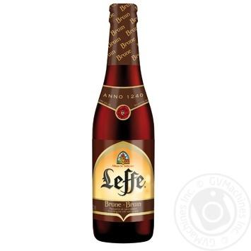 Leffe Brune Beer dark 6,5% 0,33l