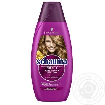 Schauma Shampoo nutritional energy for thin and weakened hair 400ml - buy, prices for Tavria V - image 1