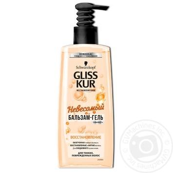 Бальзам-гель Gliss Kur невесомый восстановление для тонких и поврежденных волос 200мл - купить, цены на Novus - фото 1
