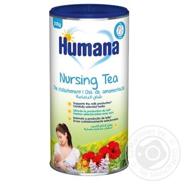 Чай Хумана для повышения лактации растворимый 200г - купить, цены на Novus - фото 1