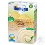 Каша Humana безмолочная пшеничная 200г