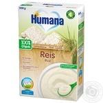 Каша безмолочная Humana рисовая 200г