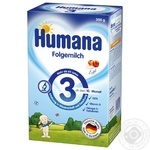 Humana for children with apple dry milk mix 300g