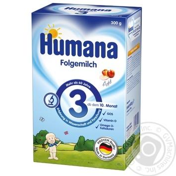 Смесь молочная Humana 3 Folgemilch 300г