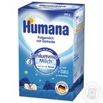 Humana for children with buckwheat dry milk mix 600g