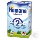 Суміш суха молочна Humana 2 mit Prebiotik для дітей від 6 місяців і старше 600г