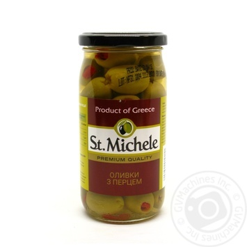 olive St.michele pepper canned 380g glass jar