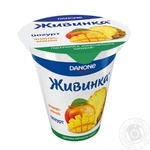 Йогурт Danone Живинка Ананас-Манго 1,5% 280г