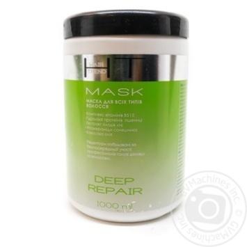 Маска Hair Trend Глубокое восстановление для всех типов волос 1л - купить, цены на Novus - фото 1