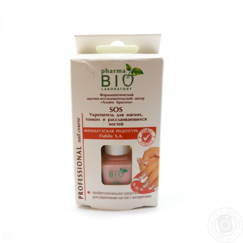 Купить 2683, Укрепитель для ногтей Bio Pharma для мягких, тонких и расслаившихся ногтей 12мл