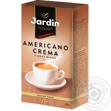 Кофе молотий Jardin Americano Crema 250г - купить, цены на Novus - фото 3
