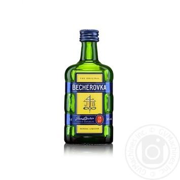 Becherovka Bitter 50ml - buy, prices for MegaMarket - image 1