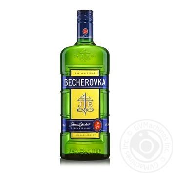 Лікерна настоянка Becherovka на травах 38% 0,7л - купити, ціни на Novus - фото 1