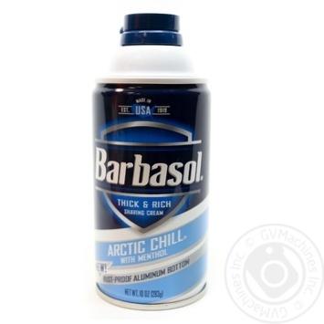 Піна для гоління арктична прохолода Barbasol 283г