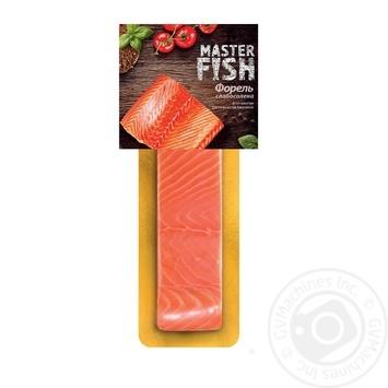 Форель Master Fish филе-кусок слабосоленая в/у 180г