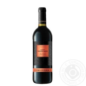 Incerman Ukrainian Kagor red wine 0,75l