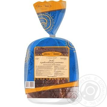 Kyivhlib Baltic with seeds half cutted bread 325g - buy, prices for Auchan - photo 2