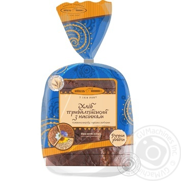 Хлеб Киевхлеб прибалтийских с семенами нарезной 325г - купить, цены на Фуршет - фото 3