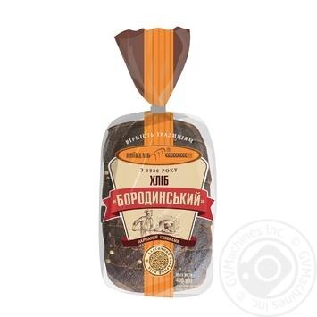 Хліб КиївХліб Бородинський нарізаний 400г - купити, ціни на Фуршет - фото 1