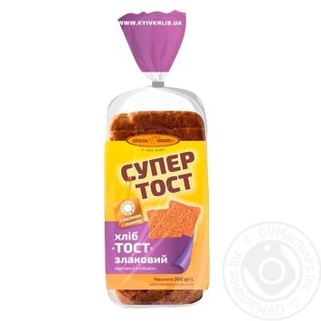 Хлеб Киевхлеб Супер тост злаковый 350г