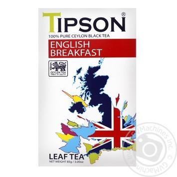 Чай Типсон Английский завтрак черное рассыпной 85г