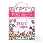 Вино Pierre Chainier Rose d'Anjou pink semi-dry wine 10.5% 3l
