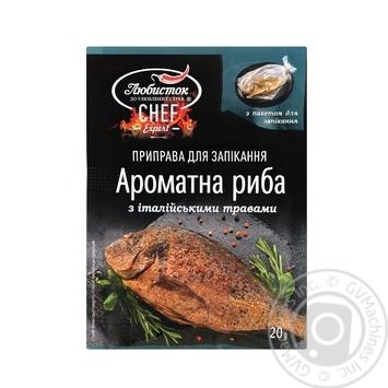 Приправа для запікання ароматна риба Любисток з італійськими травами 20г - купити, ціни на Novus - фото 3