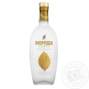 Горілка Мороша Золота Карпатська 40% 0,5л - купити, ціни на Novus - фото 1