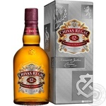 Chivas Regal 12YO Blended Scotch Wisky 500ml gift box - buy, prices for Novus - image 1