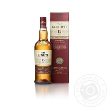 The Glenlivet 15YO Whisky 700 ml gift box - buy, prices for Novus - image 1