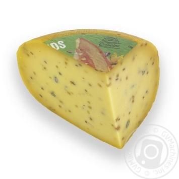 Сыр Цесвайне с семечками Литва 45%