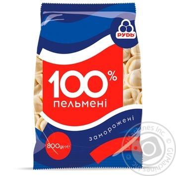 Пельмени Рудь 100% 800г