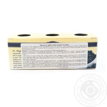 Джем St. Dalfour Мини ассорти из 3 вкусов 3шт*28г - купить, цены на СитиМаркет - фото 2