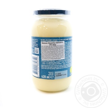 Hellmann's Velvet Mayonnaise 70% 420ml - buy, prices for Novus - image 2